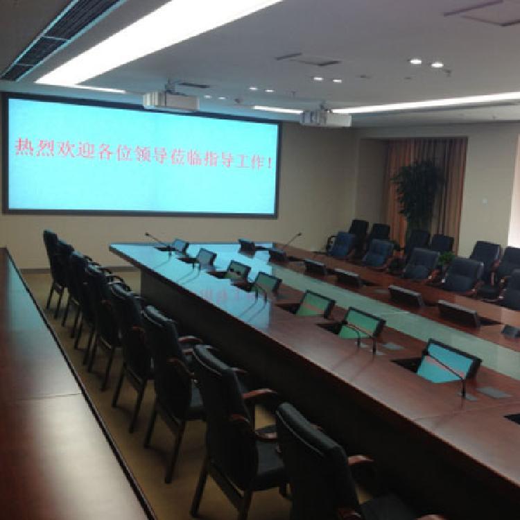 大屏拼接显示博赛科技 成都会议系统。