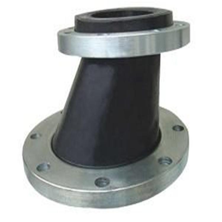 专销dn150偏心异径橡胶软接头 可曲挠偏心异径橡胶软接头污水处理厂