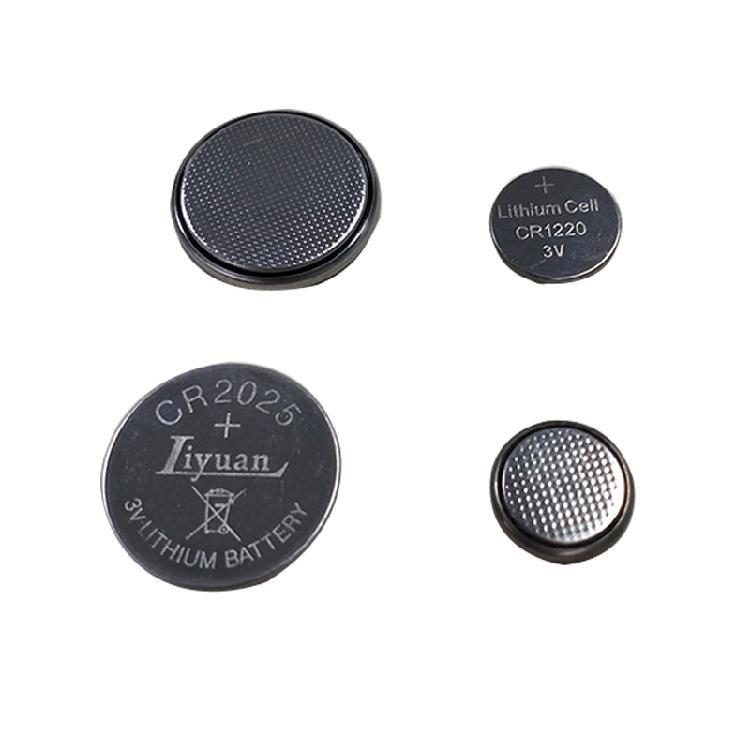 纽扣电 池CR2025CR1220锂电池3V主板电子秤汽车钥匙通用体重秤计算器-手表圆 形扣式电池
