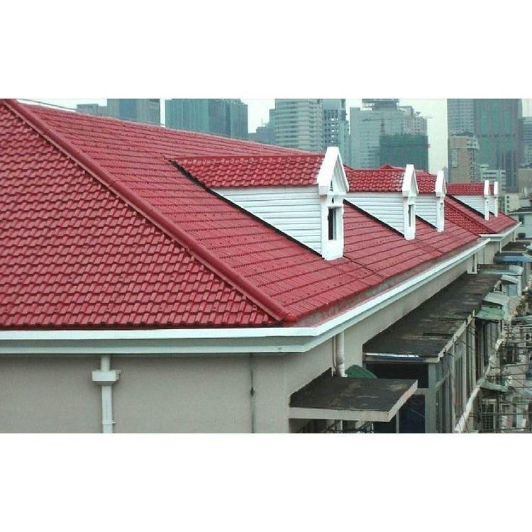 河北衡水懿杉 APVC塑钢瓦 ASA合成树脂瓦 屋顶屋脊配件房屋装饰品