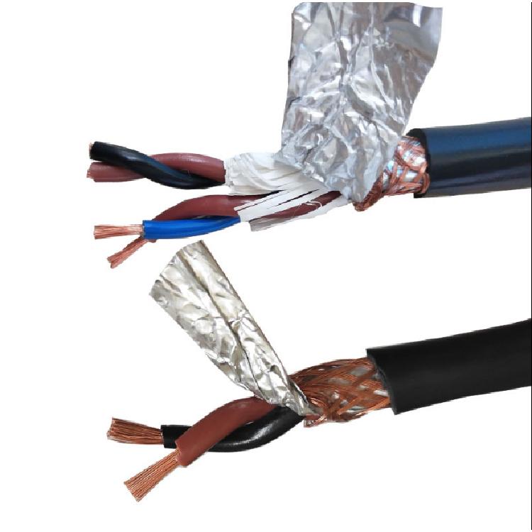 两芯屏蔽双绞线 国标屏蔽双绞线