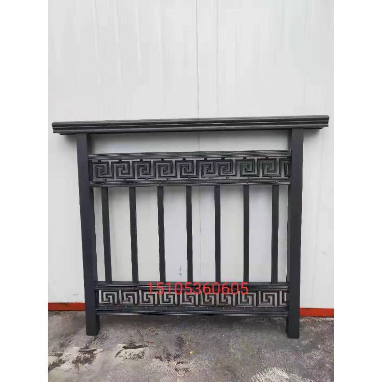 别墅围墙栏杆铝合金护栏院墙【铝艺护栏】花园铝制护栏杆厂家支持来图定制