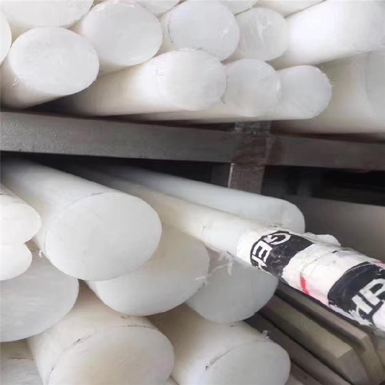 德国进口PVDF板 聚二偏氟乙烯棒 白色耐高温PVDF棒 耐高强度酸碱PVDF棒 PVDF板加工零切