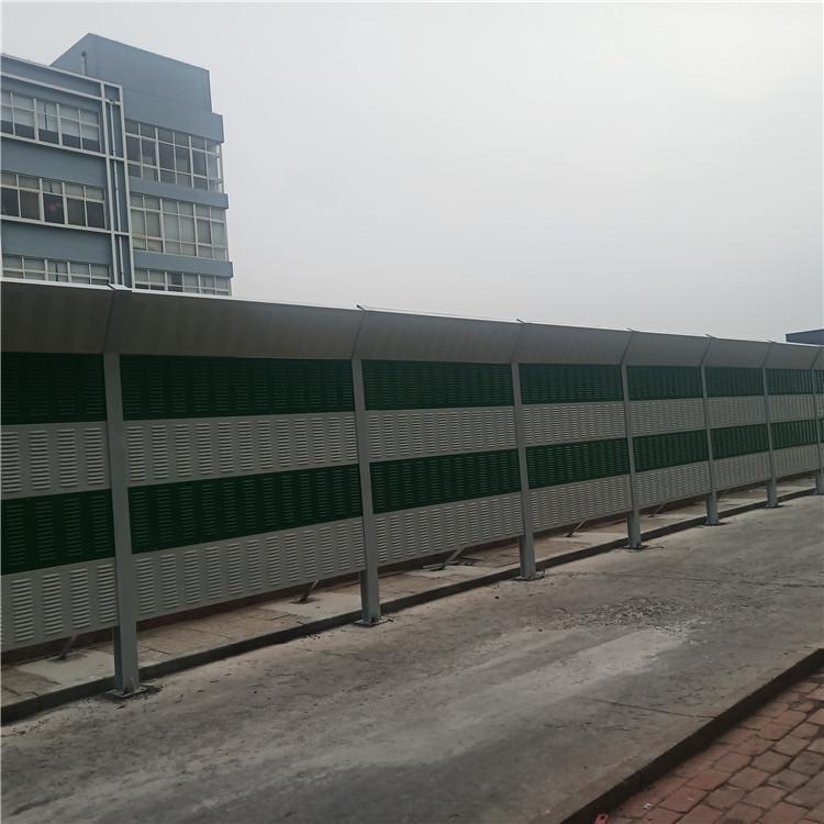 盛迈亿  工厂隔声屏障 弧形声屏障 彩钢板声屏障   全国安装定制  专业厂家