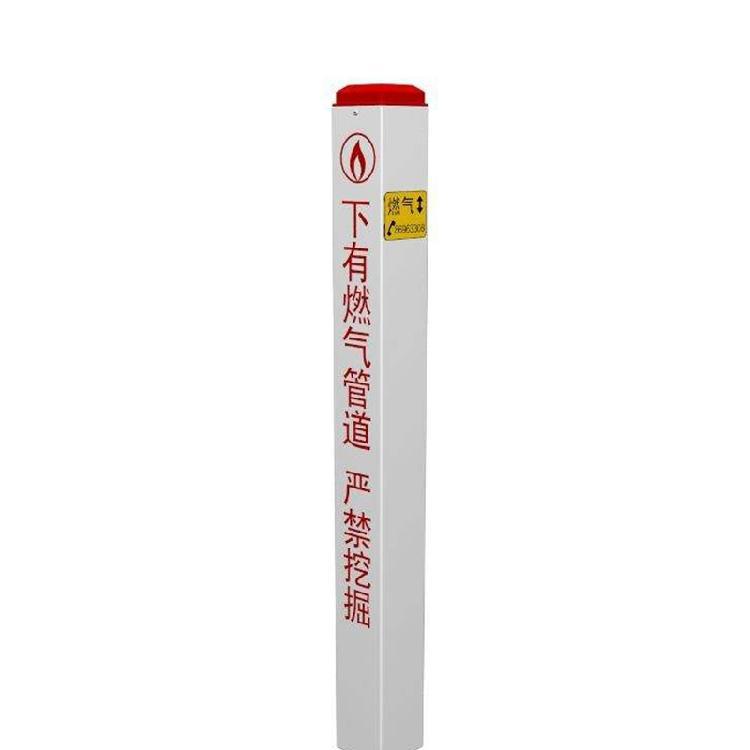 厂家现货供应玻璃钢标志桩 燃气管道电缆埋设标识警示桩 可定制
