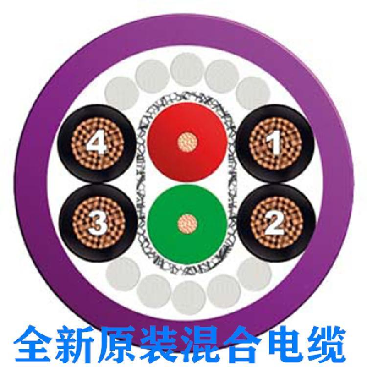 西门子DP总线电缆6XV1830-8AH10电源线,5 芯 电源线