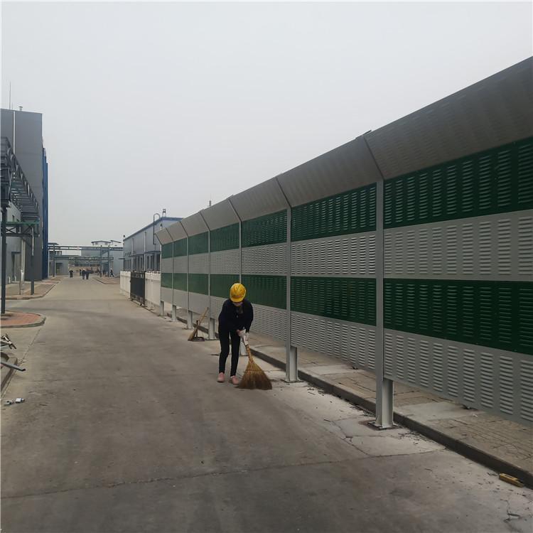 盛迈亿  工厂隔声屏障 弧形声屏障 彩钢板声屏障    专业道路降噪