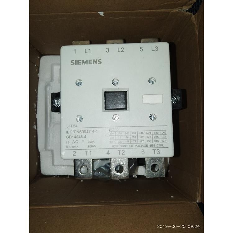 西门子SIEMENS 3TF54交流接触器 原装进口 特价