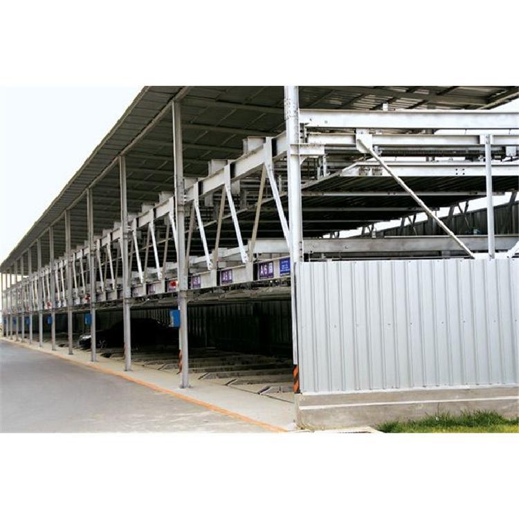 厂家直供简易升降-升降横移立体车库-两层车库
