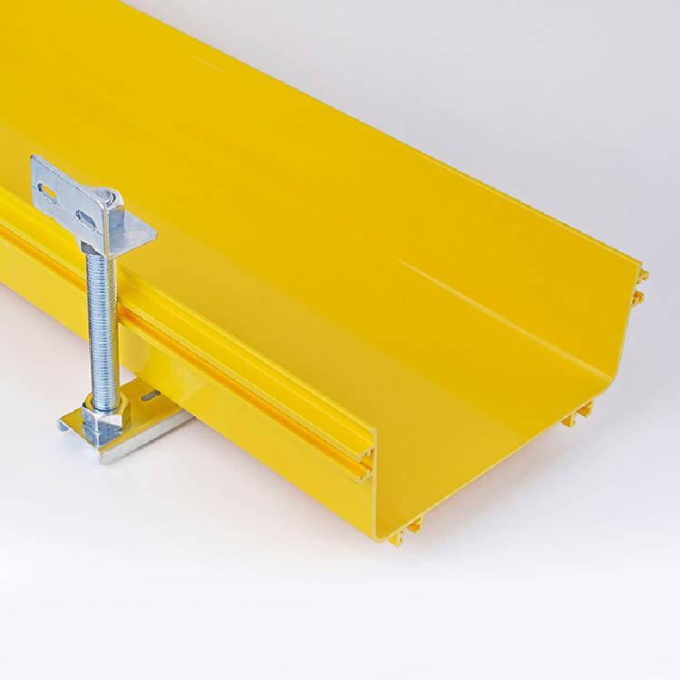 美国UL认证 120*100阻燃塑料PVC ABS可选 光纤槽道 尾纤槽 桥架
