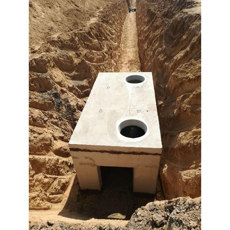 三淼建材專業生產成品電力井,預制鋼筋混凝土電力井 ,預制電力井的價格
