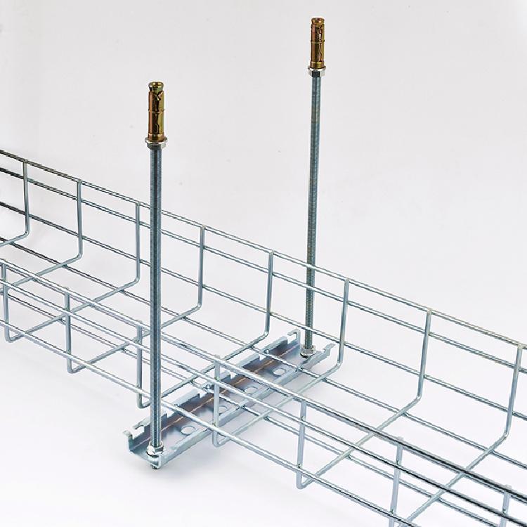 乐品网格桥架线槽明装机房走线架防火不锈钢桥架配件镀锌铝合金桥架