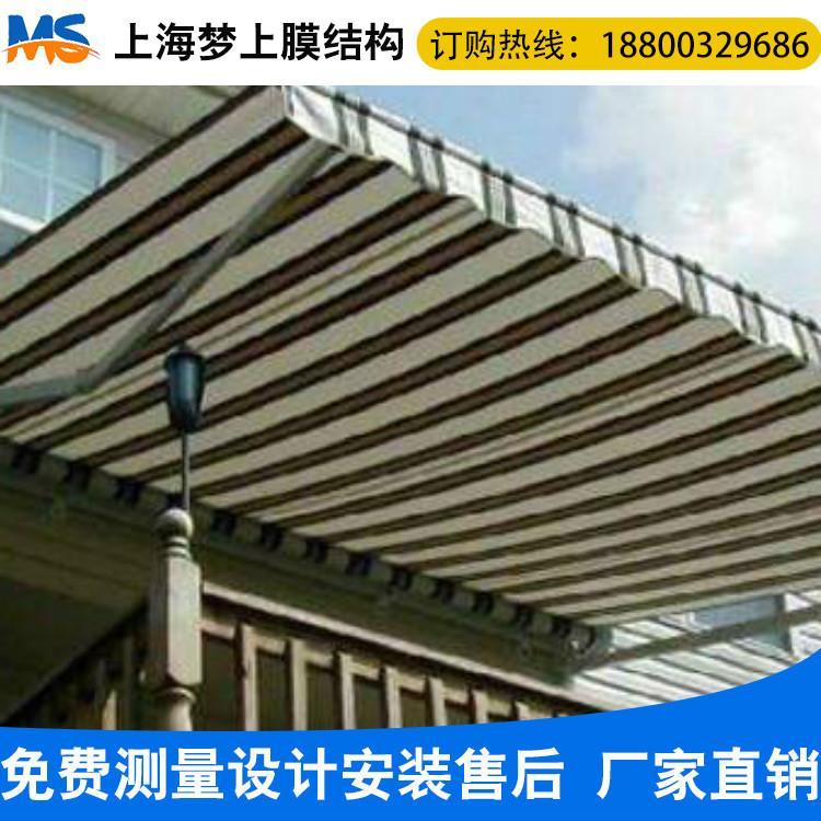 上海梦上上海膜结构厂家膜结构雨棚供应景区景观棚商场雨棚 经久耐用
