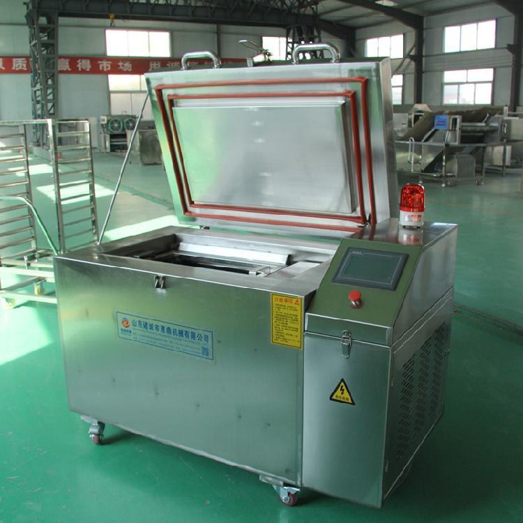 食品速冻机械设备厂家 鸡鸭鱼猪牛羊肉液氮速冻柜价格