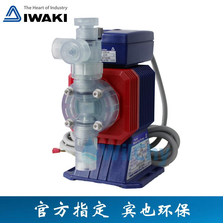 易威奇计量泵ES系列电磁计量泵ES-B16VH-230N1 ES-B16VC-230N1双阀球