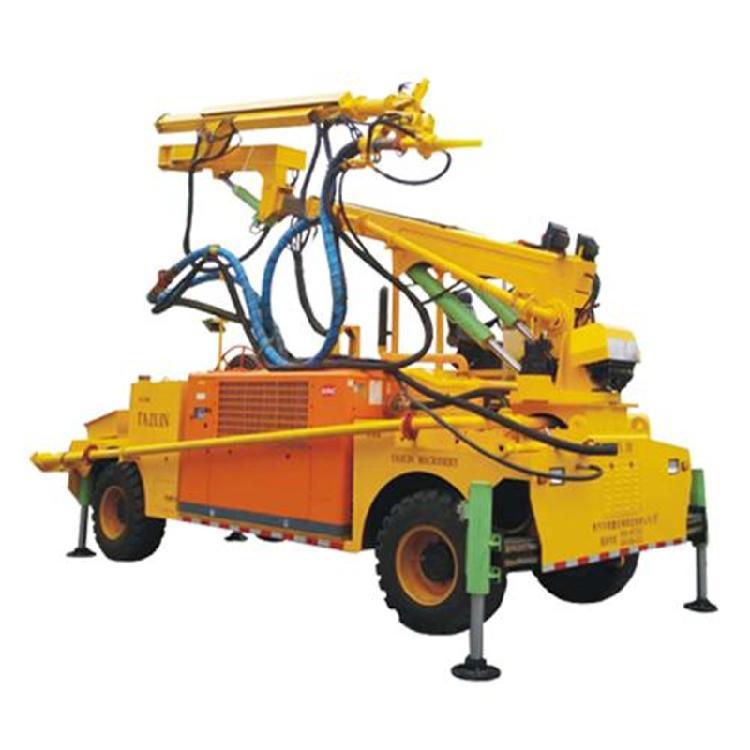 喷浆机遥控机械手臂 机械台车遥控喷浆机 全自动喷浆车大型喷浆机 工程喷浆机械手机械臂