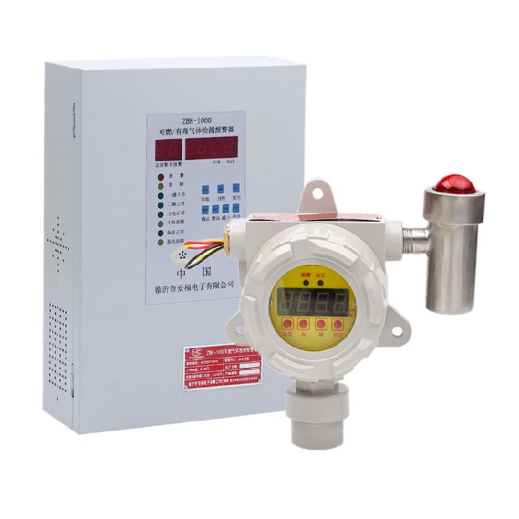 固定式可燃气体警报器可燃有毒气体泄露探测器