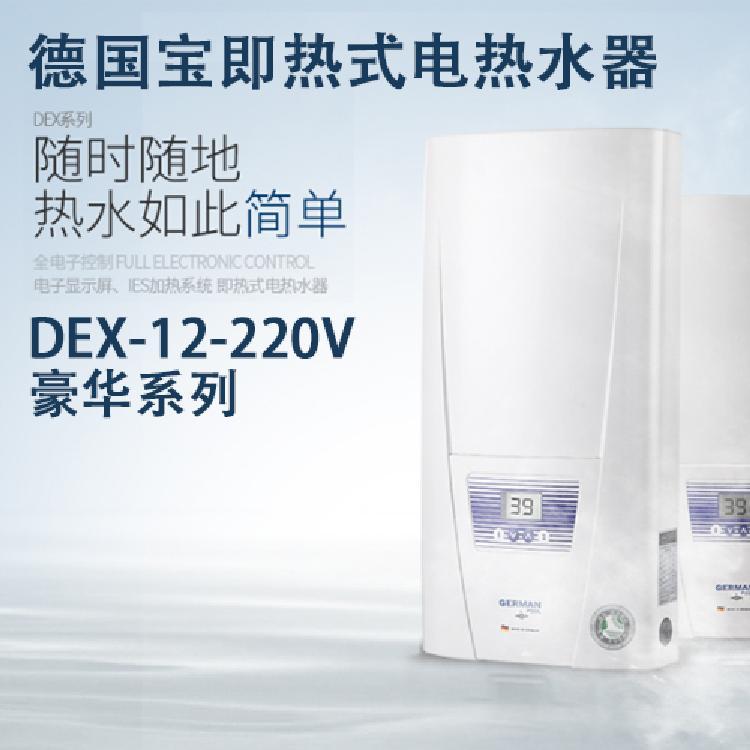 德国宝DEX-12-220V豪华系列哈尔滨进口电热水器 即开即热电热水器