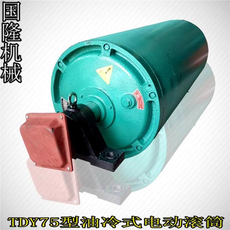 国隆机械供应TDY754080电动滚筒  防爆电动滚筒 质量保证