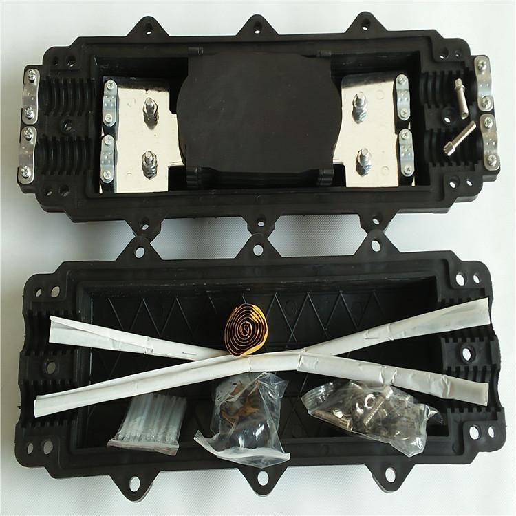 2进2出接续包高强度耐腐蚀防水卧式接头盒 电信光缆塑料接续盒