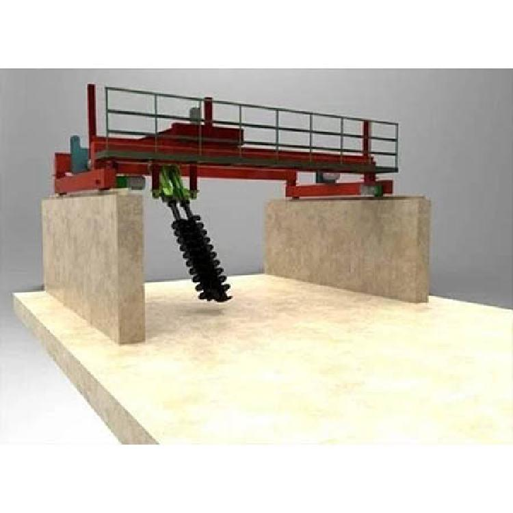 河南一正槽式翻抛机  动物粪便发酵翻堆机   有机肥设备鸡粪发酵床翻耙机