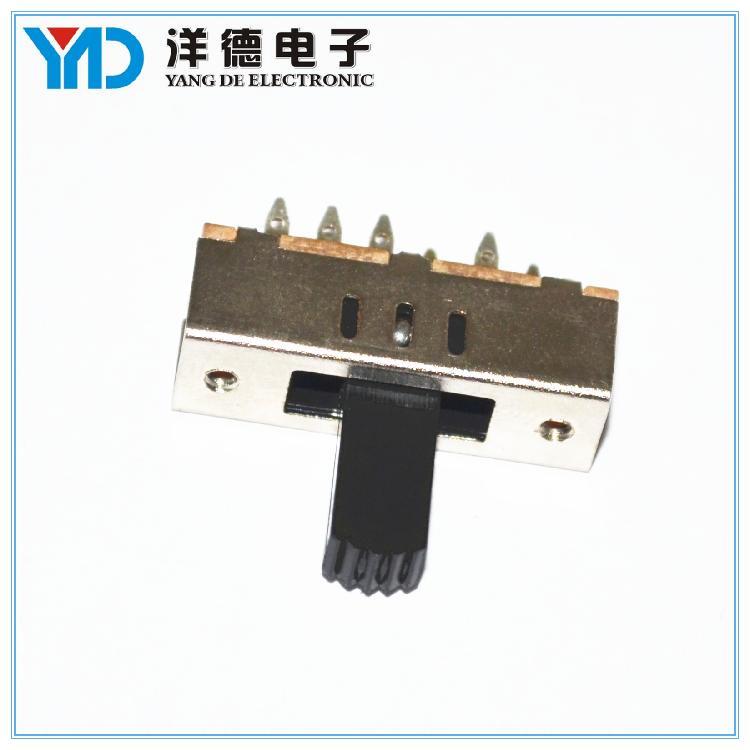 厂家直销双极三位拨动开关 SS23F02电子 玩具开关支持定做