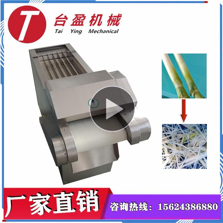 台盈TYW-300型 大葱切丝机 切葱丝机 大葱切段机 商用多功能滚刀式切菜机