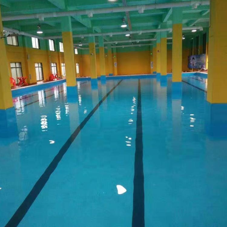 雨洁室内安装钢结构游泳池 拆装式游泳池 拼装游泳池 室内游泳池