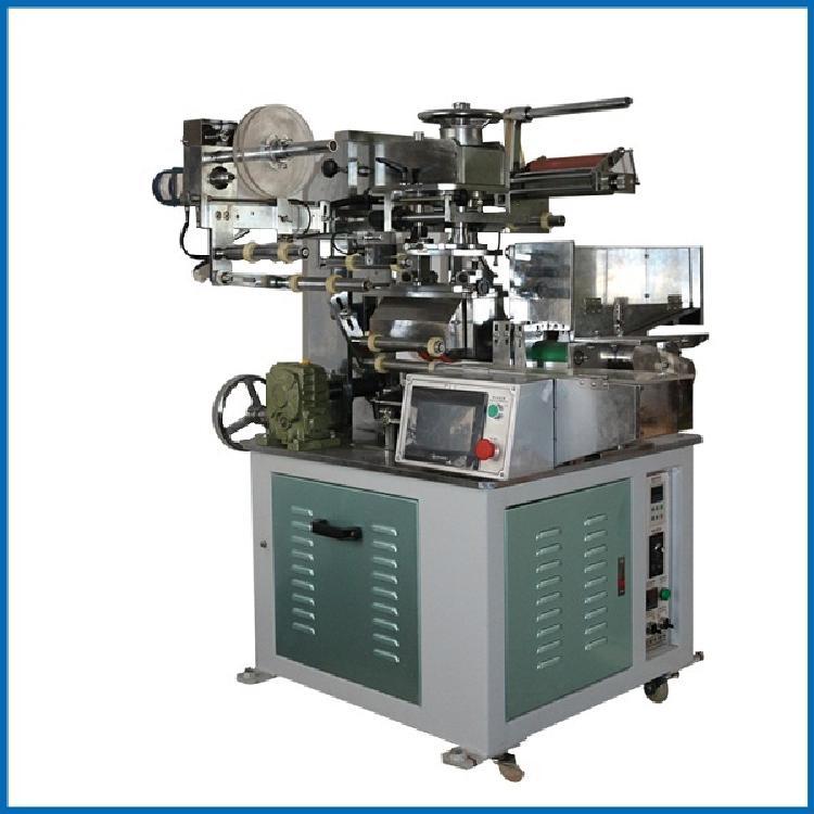 全自动笔杆圆管热转印机 自动掉头定位热转印机