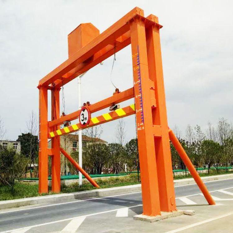 帕沃科技厂家供应道路限高架价格  限高架设立