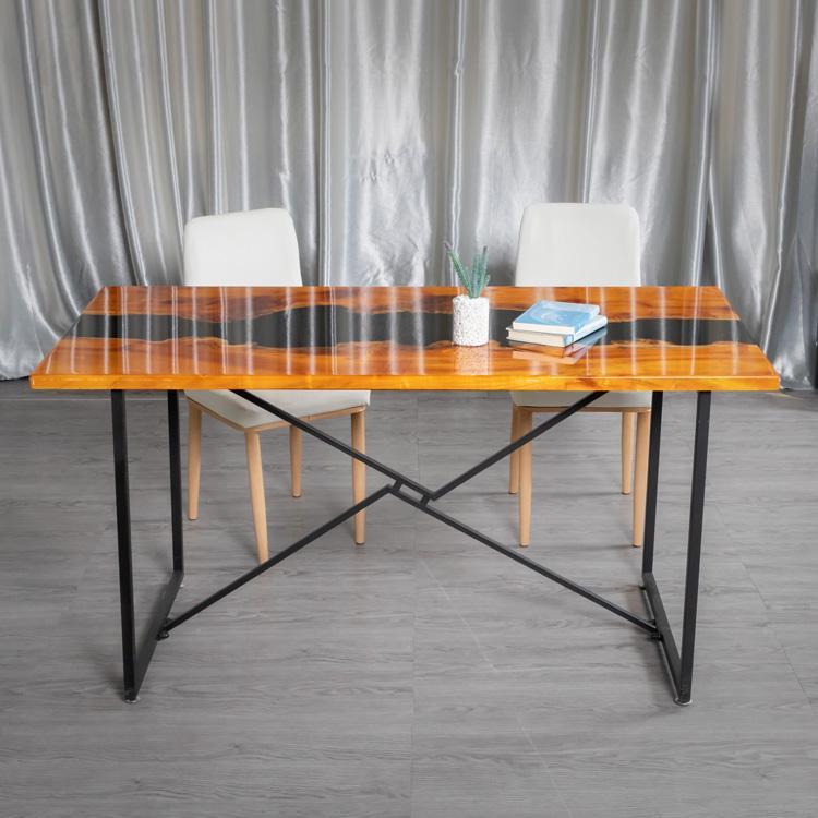 广西桂林树脂河流桌厂家直销价 办公室桌子均可定制