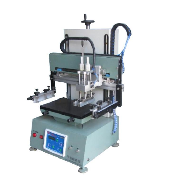 气动电动平面丝印机