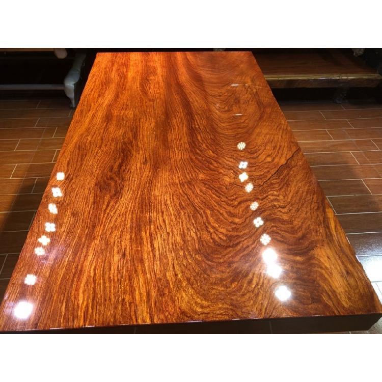 巴花实木大板破损 巴花实木大板尺寸价格