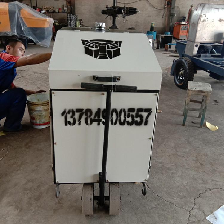 柴油动力小型地泵二次构造柱浇筑机混凝土输送泵灌浆泵厂家