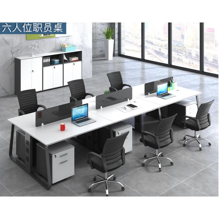 西安办公家具办公桌屏风工作位员工组合位