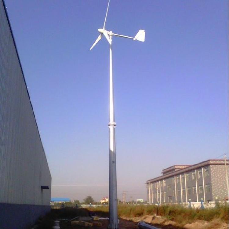 宁夏5kw小型风力发电机水平轴风力发电机低速运行发电