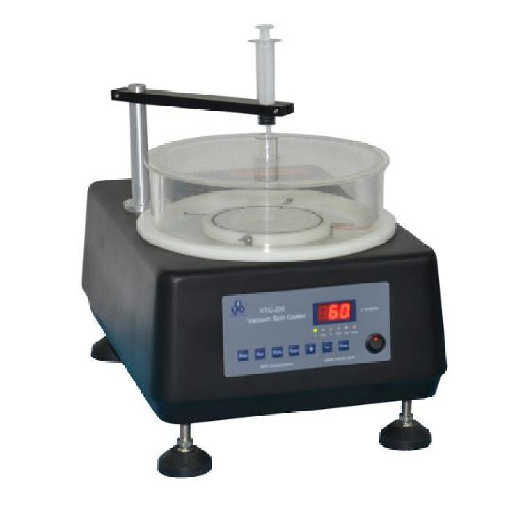 涂膜机 VTC-200型 真空旋转涂膜机 真空旋转匀胶涂覆机 高速旋转使胶体溶液等均匀涂覆在样件表面