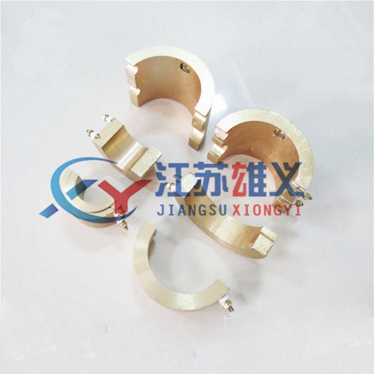 实体工厂 可根据要求设计生产铸铜加热圈 铸铜电加热板
