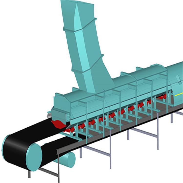 廠家直銷皮帶機犁式卸料器 電液動犁式卸料器 選廠家就找華明電力 產品 質量可靠