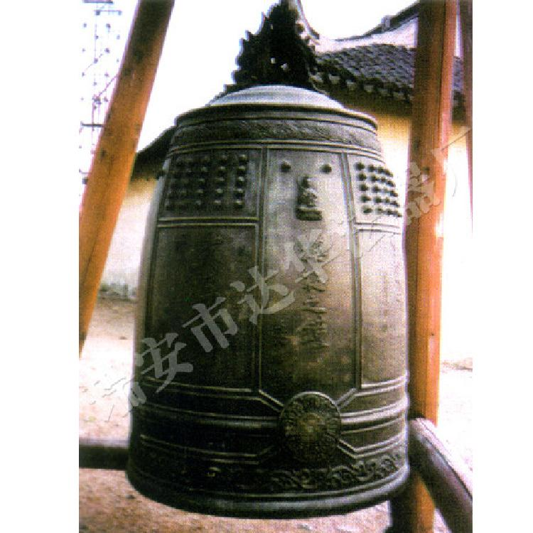 专业生产 日本定制樱花之钟 全国各类寺庙宝殿铜钟报价