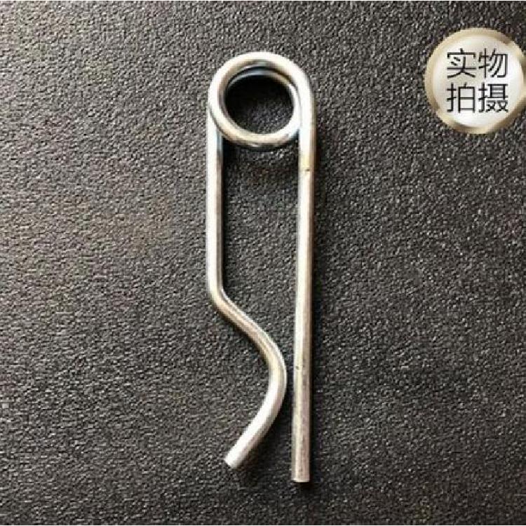 仁达生产销售 贝雷销专用保险卡 贝雷销保险形弹簧销 钢桥配件厂家