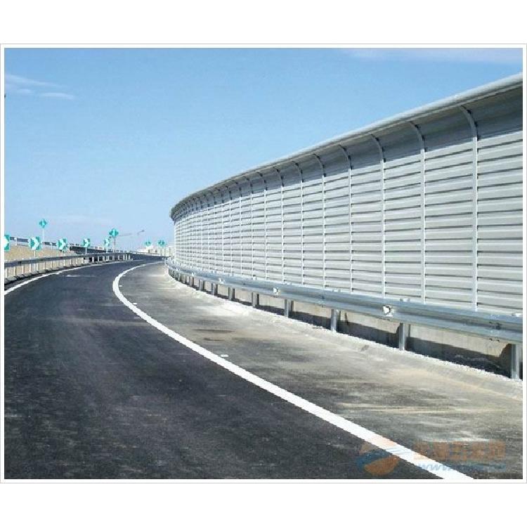 广州声屏障厂家 专业生产道路隔声屏 百叶孔防冲击声屏障