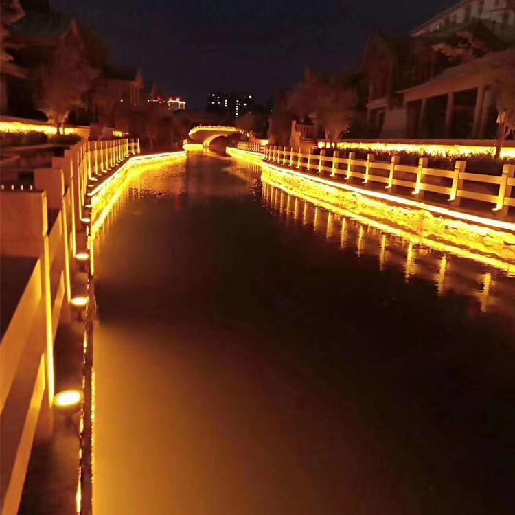郑州led楼体亮化工程 河南led道路亮化 免费设计效果图