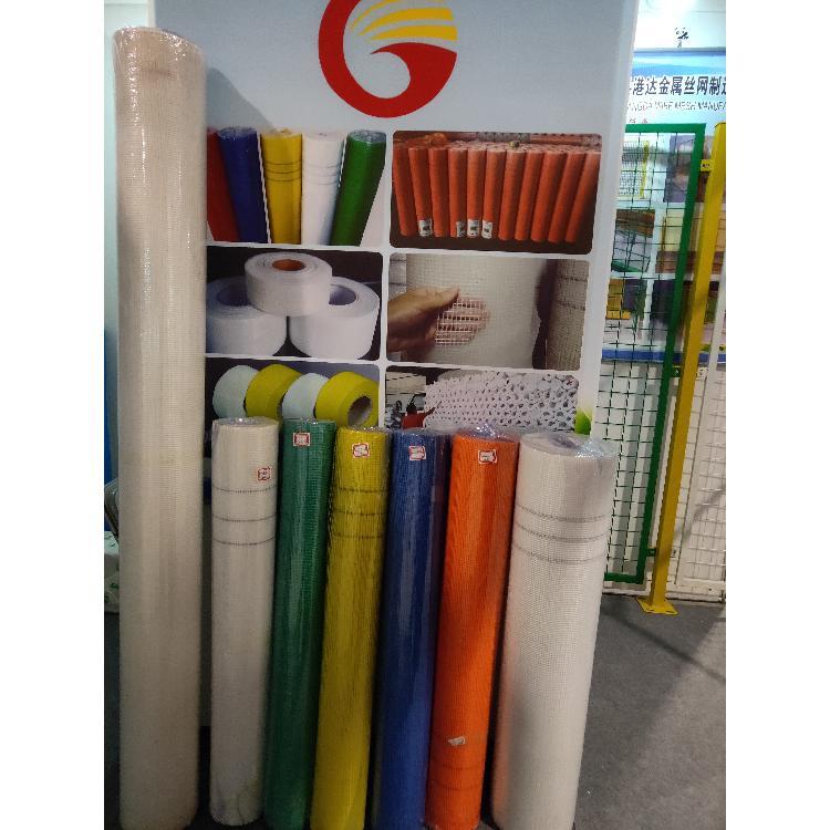 安平港达现货内墙网格布,黄色网格布,网格布生产厂家