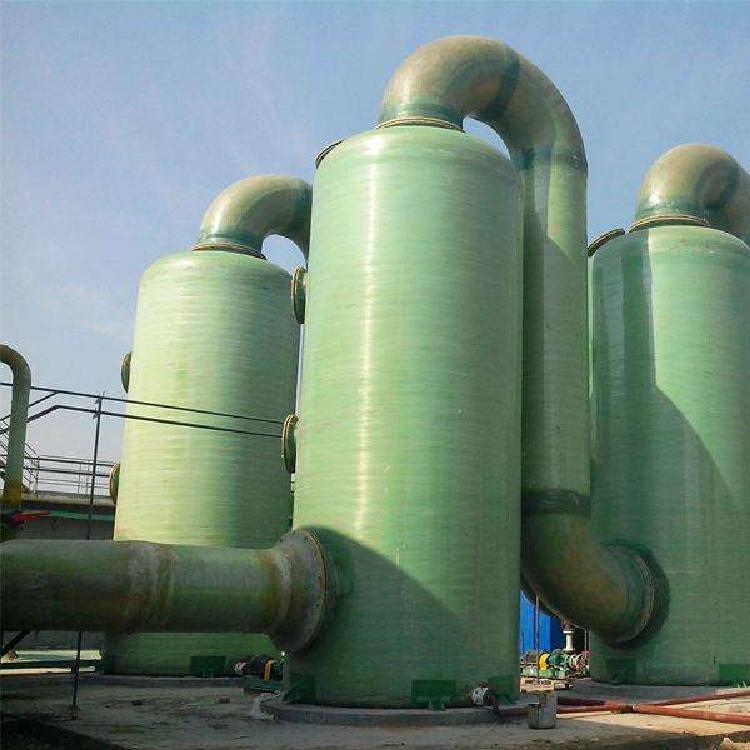 厂家直销 酸气净化塔 玻璃钢吸附塔 隧道窑脱硫塔