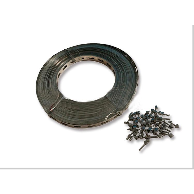 吼卡不锈钢带螺栓紧固带电伴热附件电伴热配件