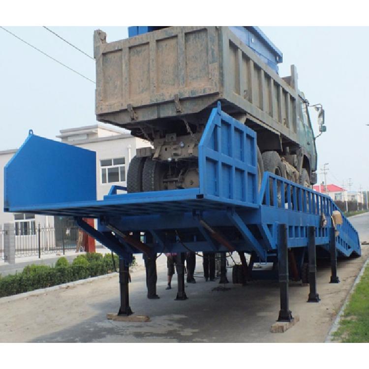 厂家定制移动式登车桥 电动液压登车桥 月台集装箱装卸货平台