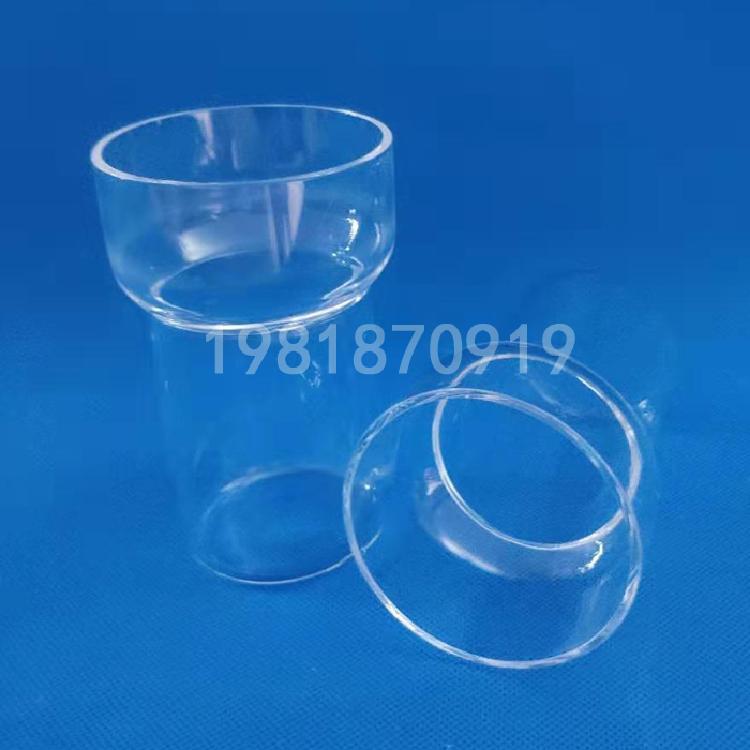 石英玻璃容器 石英方缸 耐高温异形件加工定做 可来图来样定做