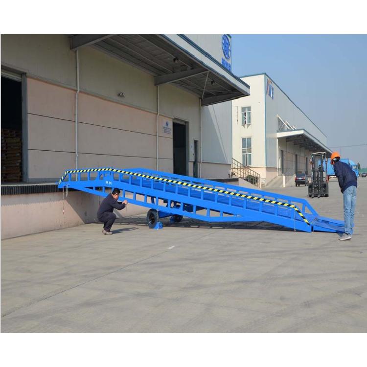 定制供应移动式登车桥 电动液压登车桥 月台集装箱装卸货平台