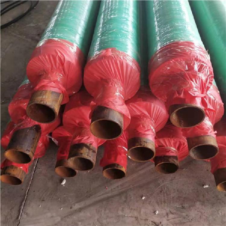预制直埋保温管 聚氨酯直埋保温管 直埋保温管 洲际重工专业生产厂家